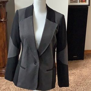 Women's size 8 AGB blazer button up jacket 2 tone